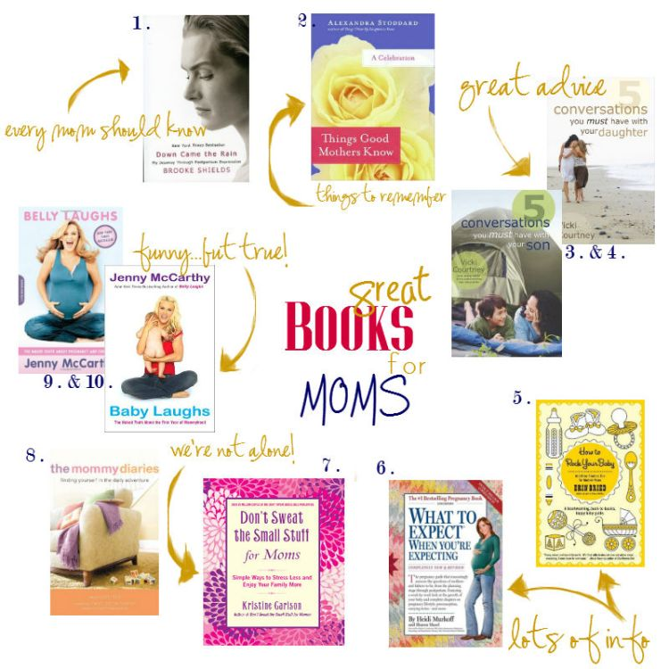 great books for moms